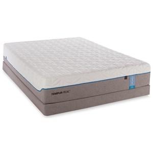 Tempur-Pedic® TEMPUR-Cloud Elite Queen Extra Soft Low Profile Set