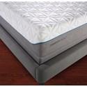 Tempur-Pedic® TEMPUR-Cloud Elite Queen Extra-Soft Mattress and TEMPUR-Ergo™ Premier Queen Adjustable Foundation - Closer Look at Mattress