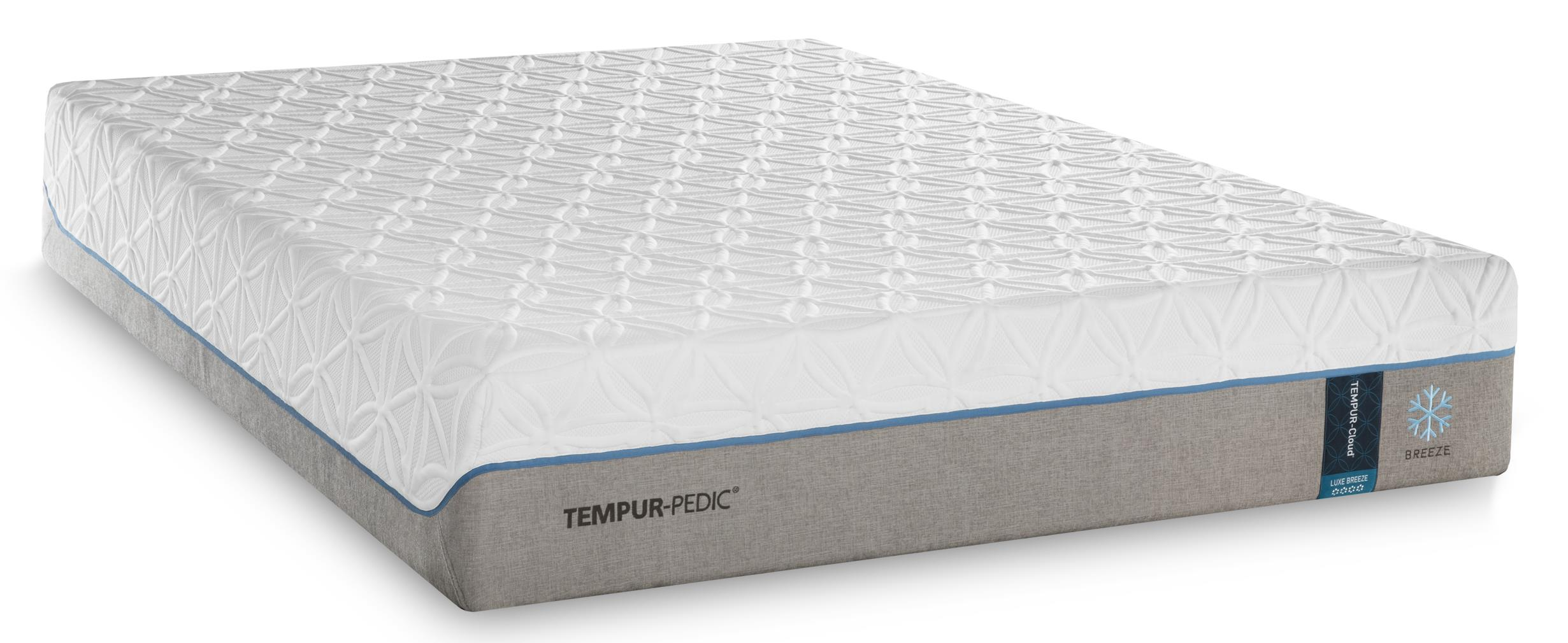 Tempur-Pedic® TEMPUR-Cloud Luxe Breeze 2 Twin Extra Long Ultra-Soft Mattress - Item Number: 10109220