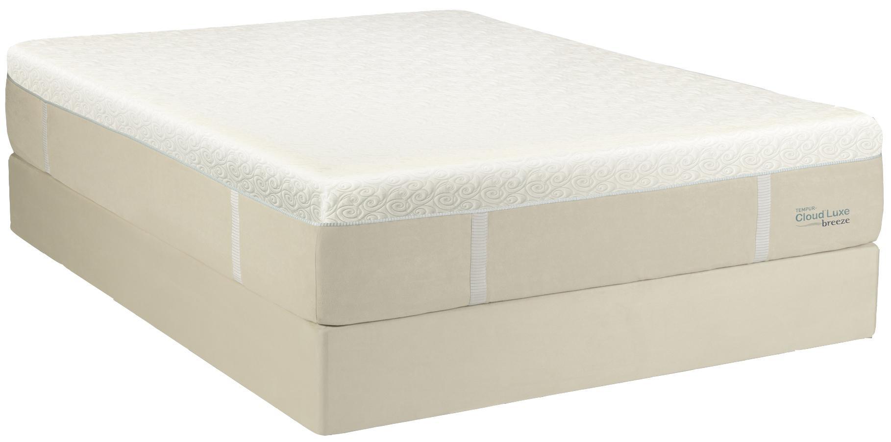 Tempur-Pedic® TEMPUR-Cloud® Luxe Breeze Cal King Ultra Soft Mattress Set - Item Number: 10109180+2x20520190