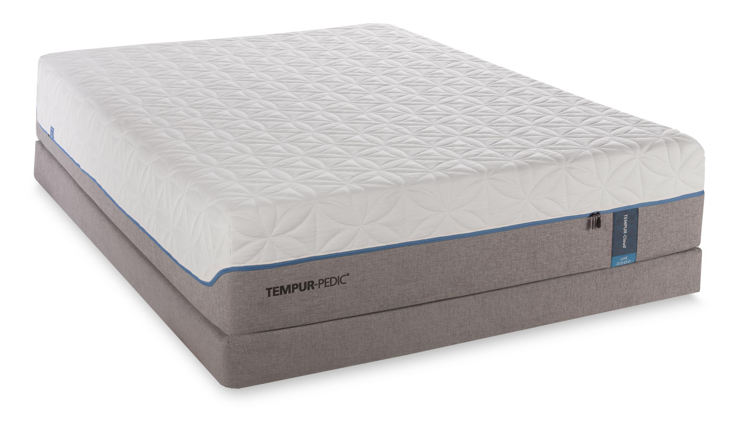 Tempur-Pedic® TEMPUR-Cloud Luxe Cal King Ultra-Soft Mattress Set - Item Number: 10245280+2x20510190