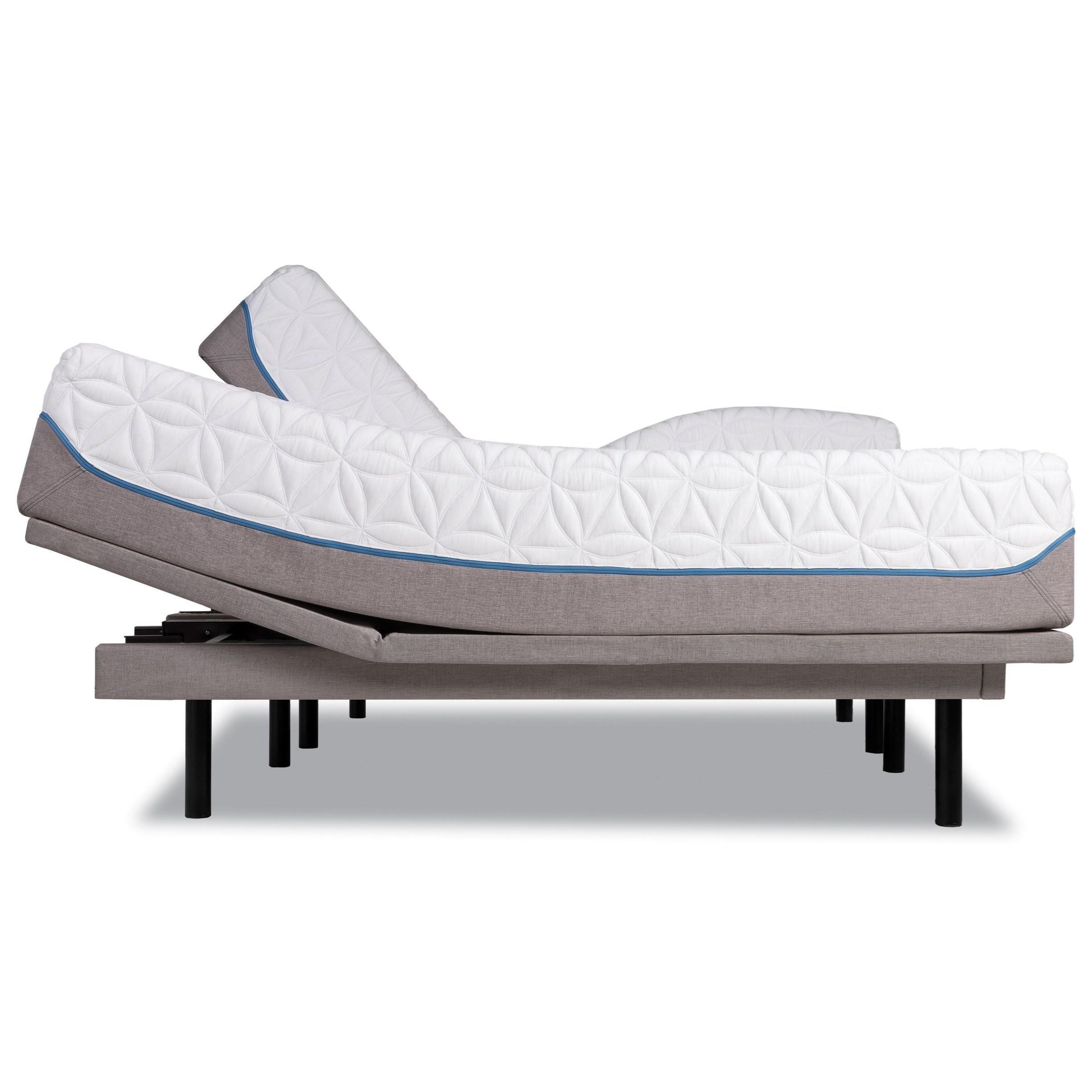Tempur-Pedic® TEMPUR-Cloud Luxe Cal King Ultra-Soft Mattress Set - Item Number: 10245280+2x25289290