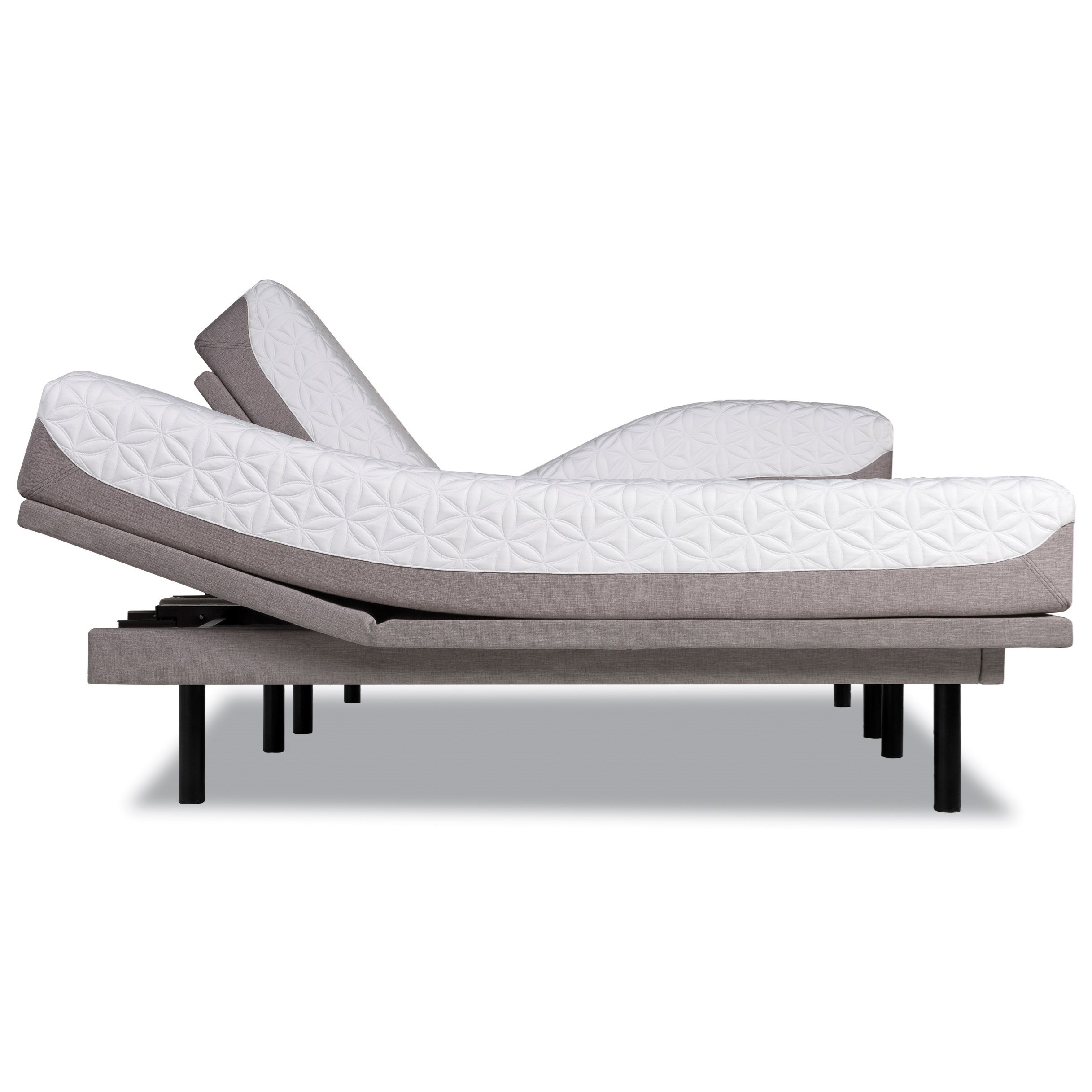 Tempur-Pedic® TEMPUR-Cloud Prima King Medium-Soft Mattress Set - Item Number: 10237170+2x25289220