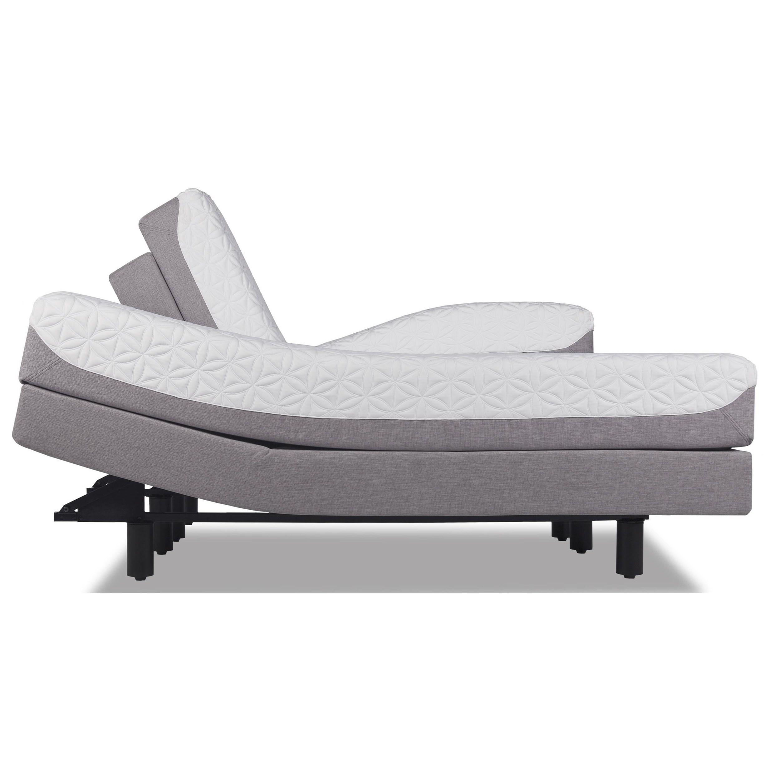 Tempur-Pedic® TEMPUR-Cloud Prima King Medium-Soft Mattress Set - Item Number: 10237170+2x25565220
