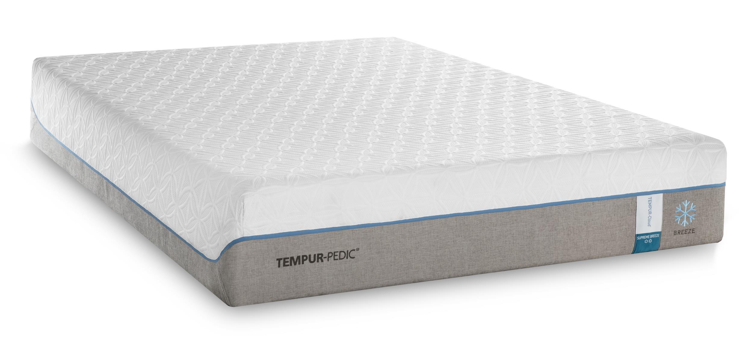 Tempur-Pedic® TEMPUR-Cloud Supreme Breeze 2 Twin Extra Long Soft Mattress Set - Item Number: 10103220+25289220