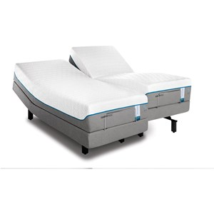 Tempur-Pedic® TEMPUR-Cloud Supreme Breeze 2 Twin Extra Long Soft Mattress Set