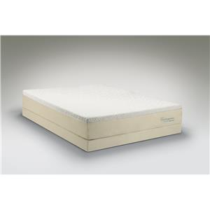 Tempur-Pedic® TEMPUR-Cloud®  Supreme Breeze Queen Soft Mattress, Low Profile Set