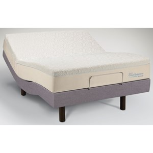 Tempur-Pedic® TEMPUR-Cloud®  Supreme Breeze Queen Soft Mattress, Adj Set