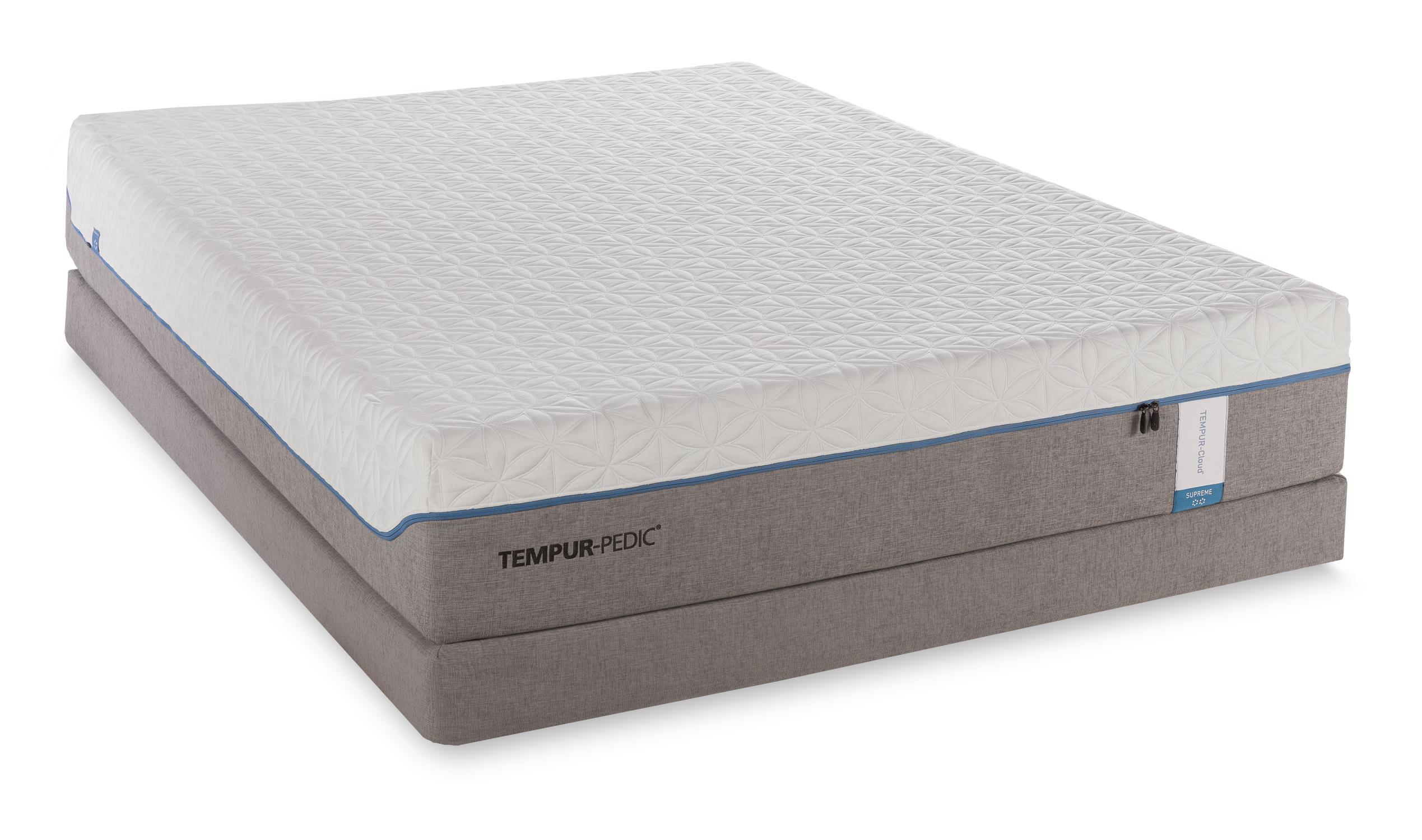 Tempur-Pedic® TEMPUR-Cloud Supreme King Soft Mattress Set - Item Number: 10240270+2x21510120