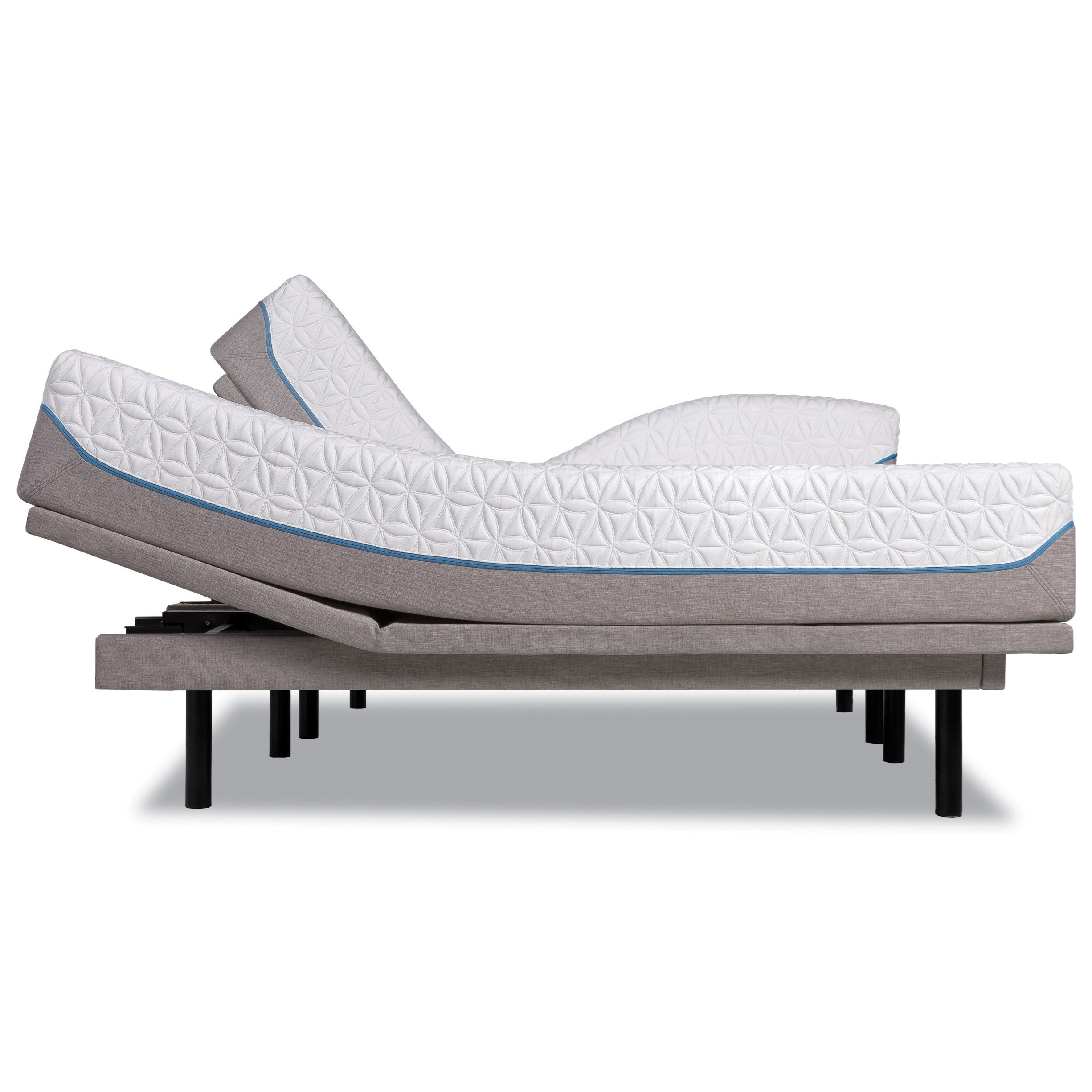 Tempur-Pedic® TEMPUR-Cloud Supreme King Soft Adjustable Set - Item Number: 10240270+2x25289220G
