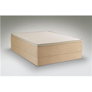 Tempur-Pedic® TEMPUR-Contour Allura Queen Medium Mattress Set