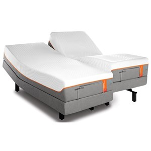 Tempur-Pedic® TEMPUR-Contour Elite Breeze Twin Extra Long Medium-Firm Mattress Set