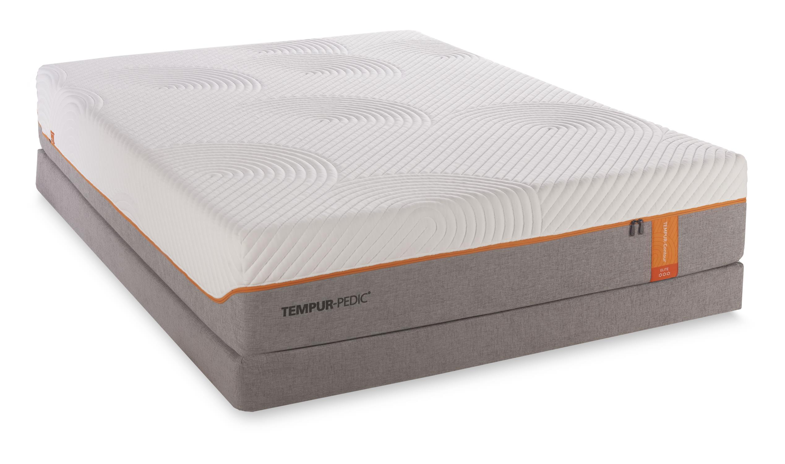Tempur-Pedic® TEMPUR-Contour Elite Cal King Medium-Firm Mattress Set - Item Number: 10257180+2x21510190