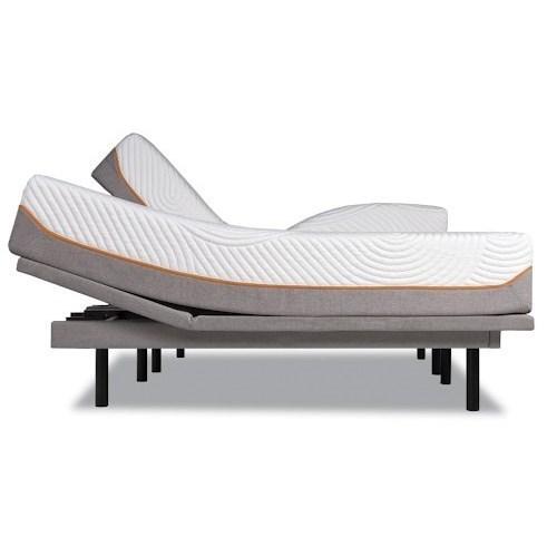 Tempur-Pedic® TEMPUR-Contour Elite King Medium-Firm Mattress Set - Item Number: 10257170+2x25289220