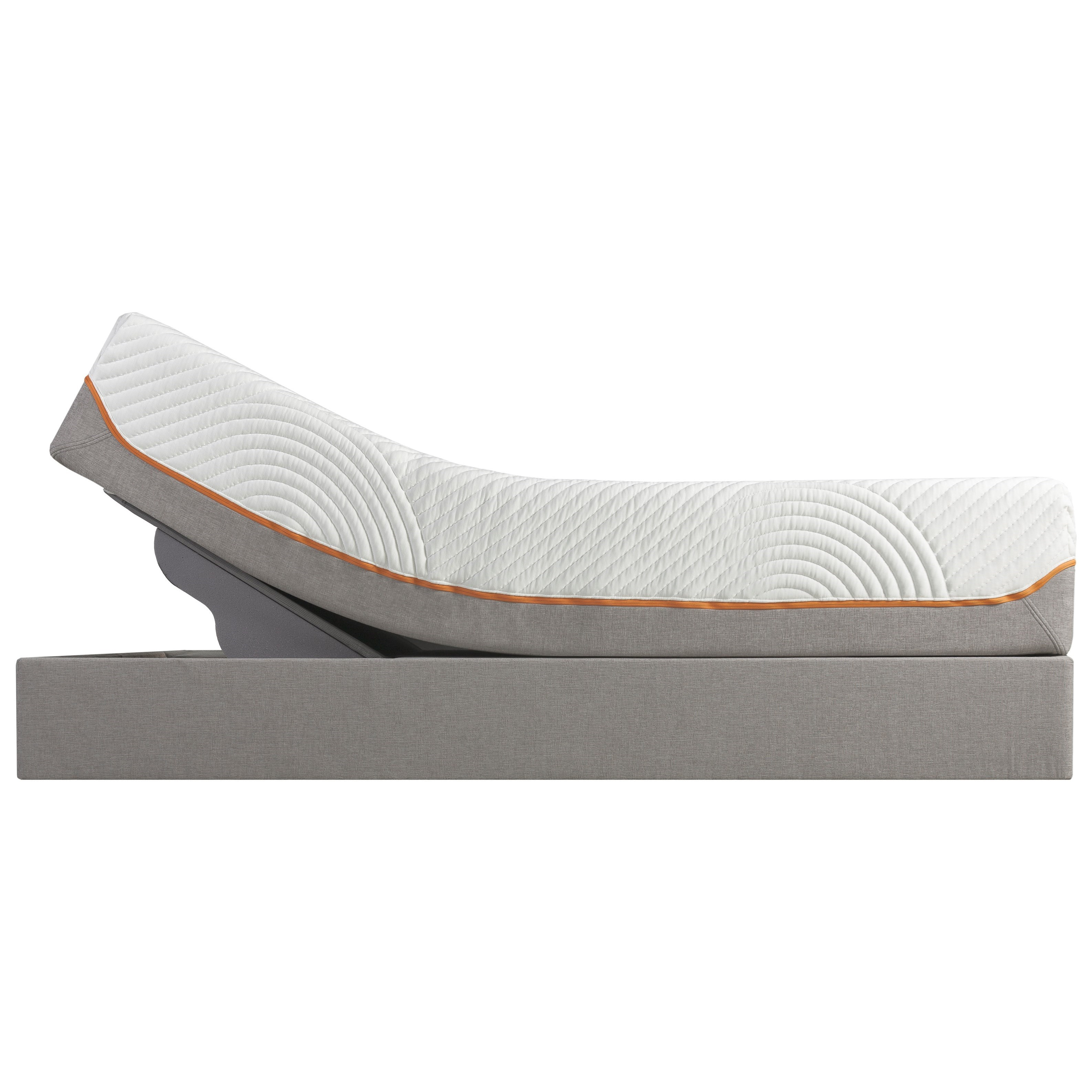 Tempur-Pedic® TEMPUR-Contour Rhapsody Luxe Queen Medium Firm Mattress, Adj Set - Item Number: 10258150+25287150