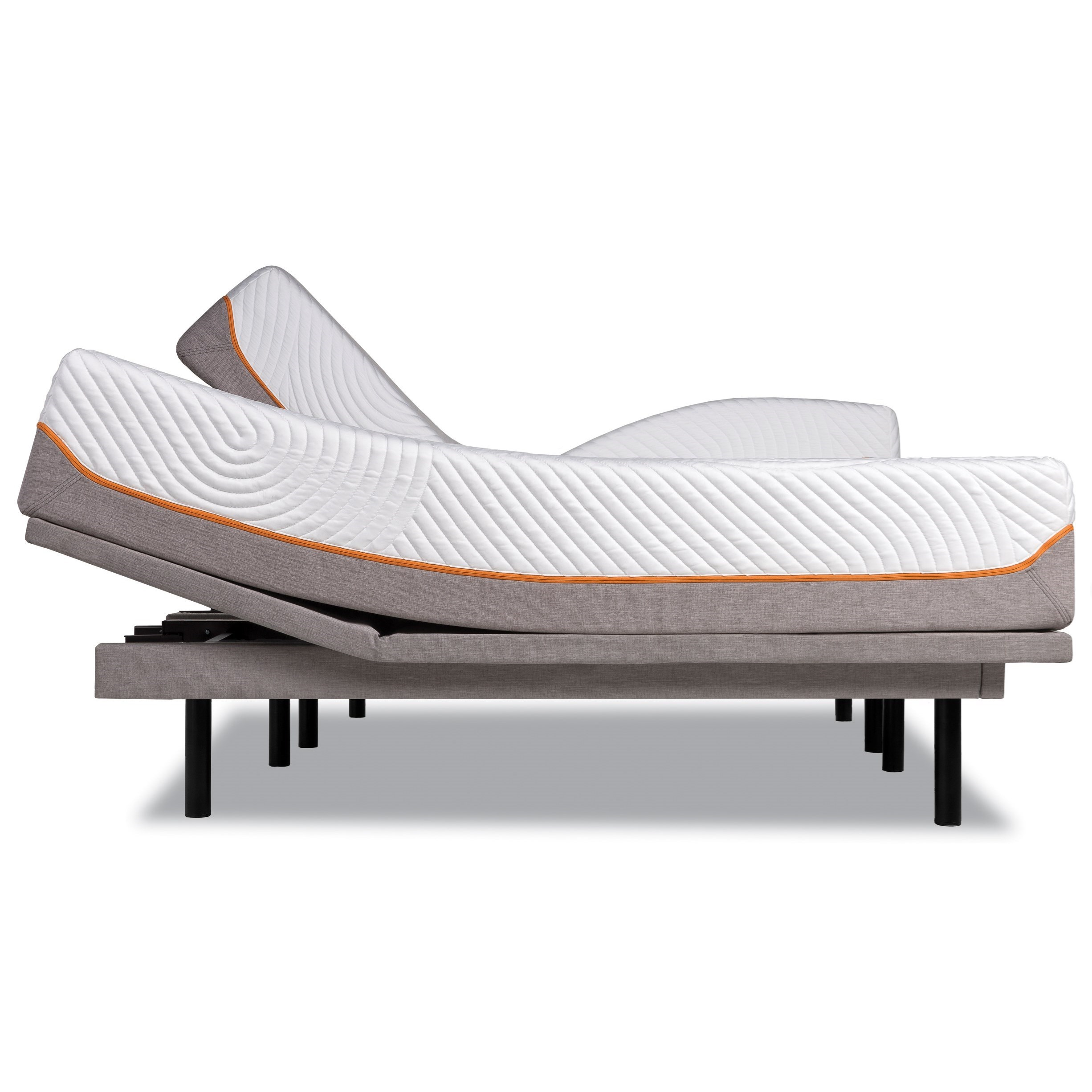 Tempur-Pedic® TEMPUR-Contour Rhapsody Luxe King Medium Firm Mattress, Adj Set - Item Number: 10258170+2x25289220