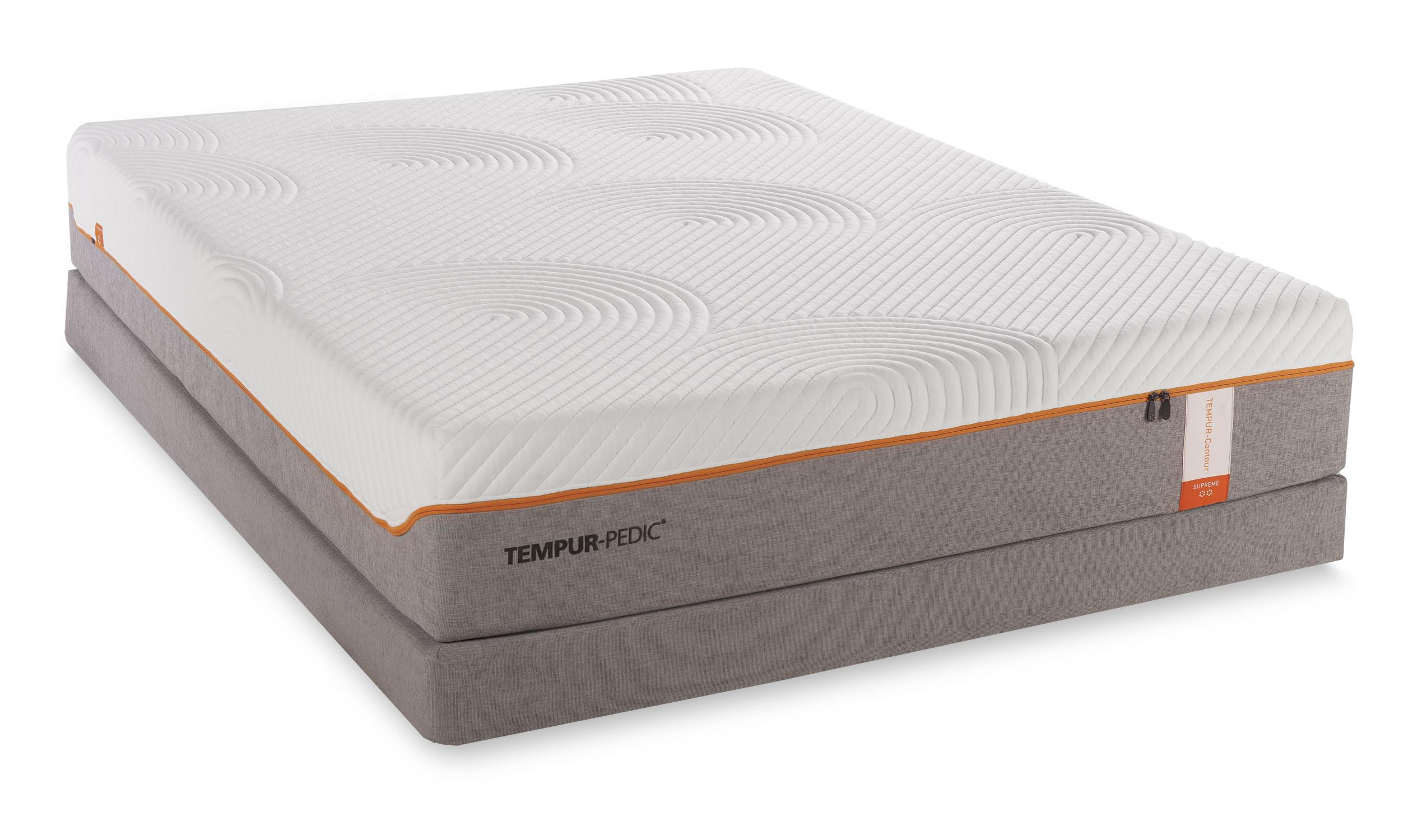 Tempur-Pedic® TEMPUR-Contour Supreme Queen Firm Mattress Set - Item Number: 10256150+21510150