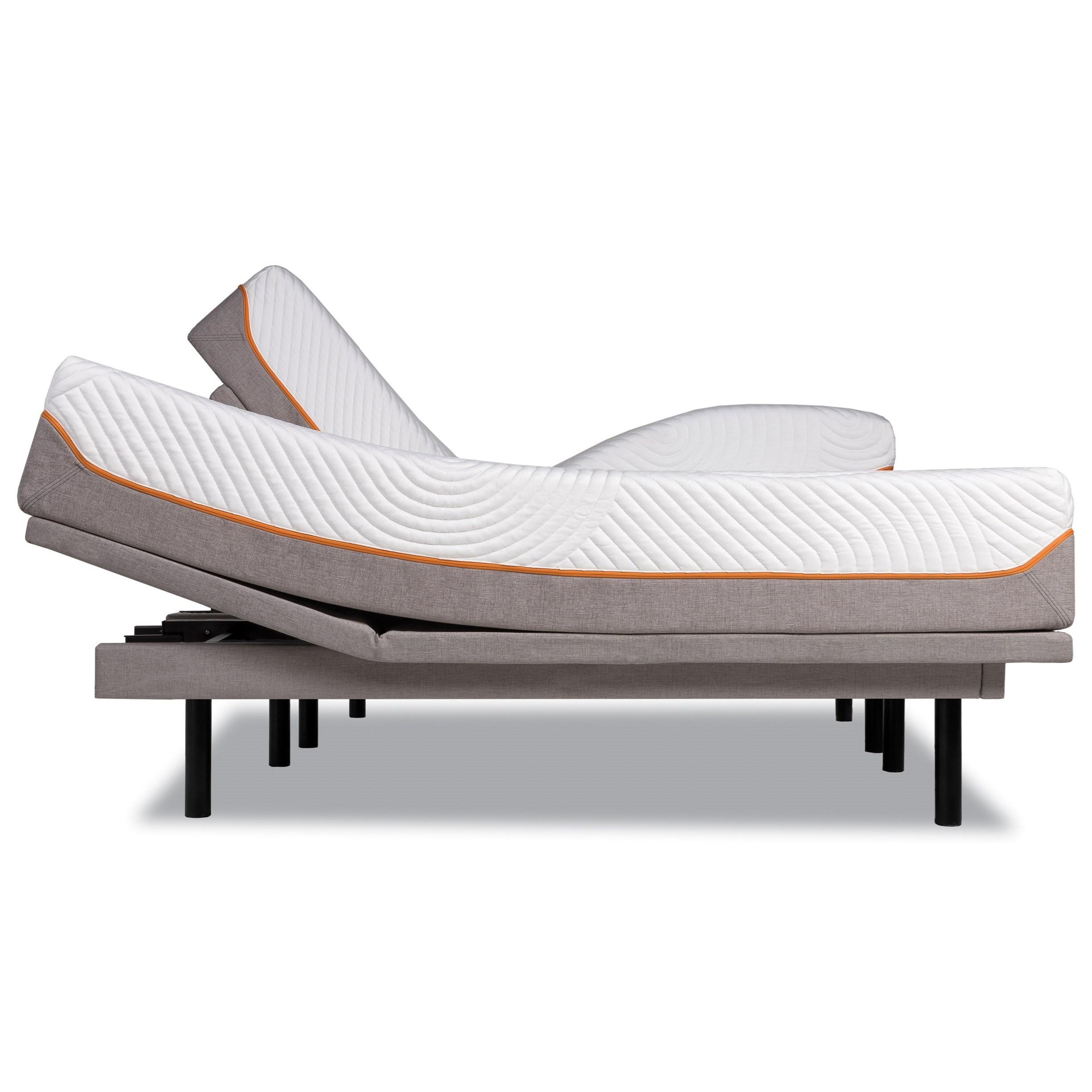 Tempur-Pedic® TEMPUR-Contour Supreme Cal King Firm Mattress Set - Item Number: 10256180+2x25289290