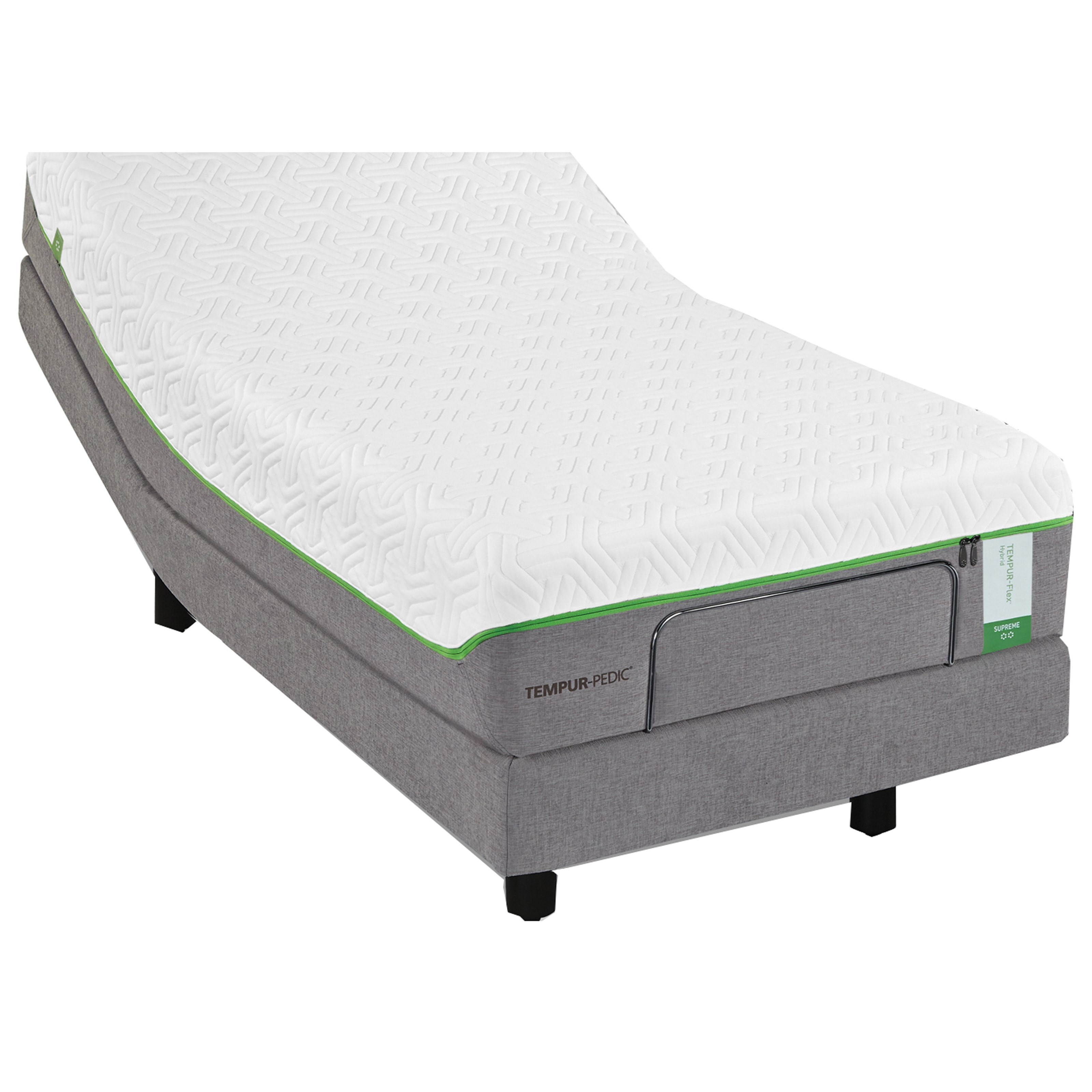 Tempur-Pedic® TEMPUR-Flex Elite Queen Medium Soft Plush Mattress Set - Item Number: 10117150+25565250