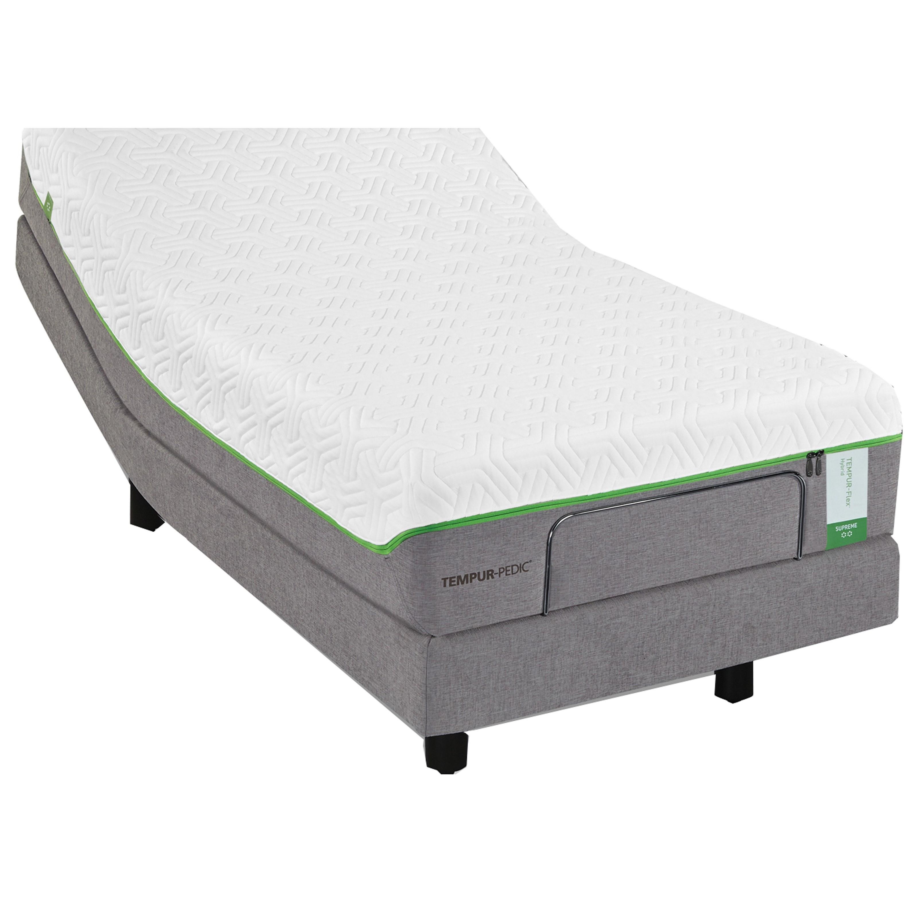 Tempur-Pedic® TEMPUR-Flex Elite King Medium Soft Plush Mattress Set - Item Number: 10117170+2x25565220