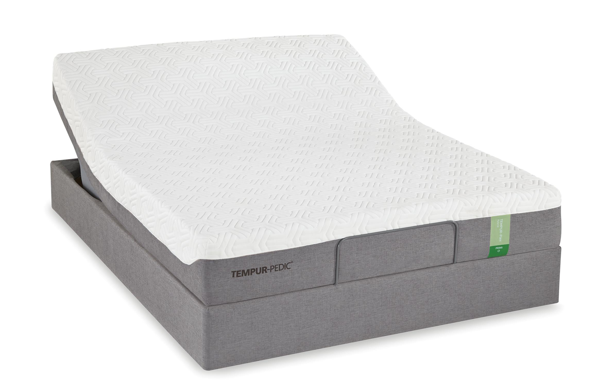 Tempur-Pedic® TEMPUR-Flex Prima Twin Medium Firm Mattress Set - Item Number: 10115210+25287110