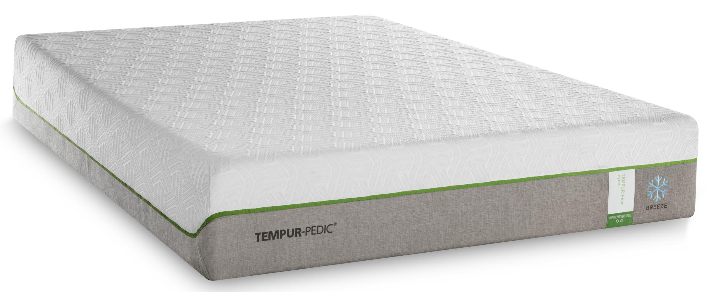 Tempur-Pedic® TEMPUR-Flex Supreme Breeze California King Medium Plush Mattress - Item Number: 10292280
