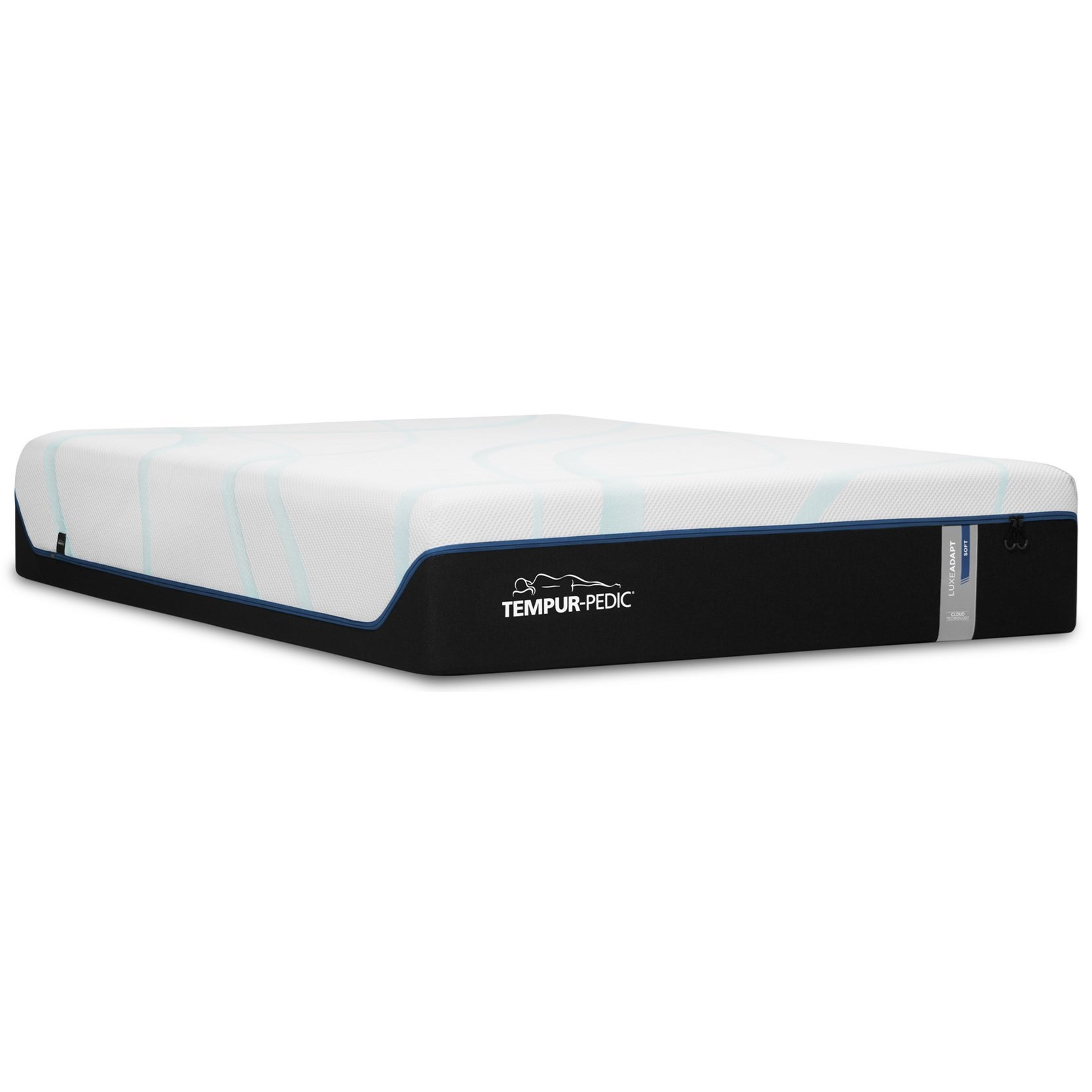 TEMPUR-LUXEADAPT™ Plush Tempur-Pedic Queen Plush Mattress Set by Tempur-Pedic® at HomeWorld Furniture