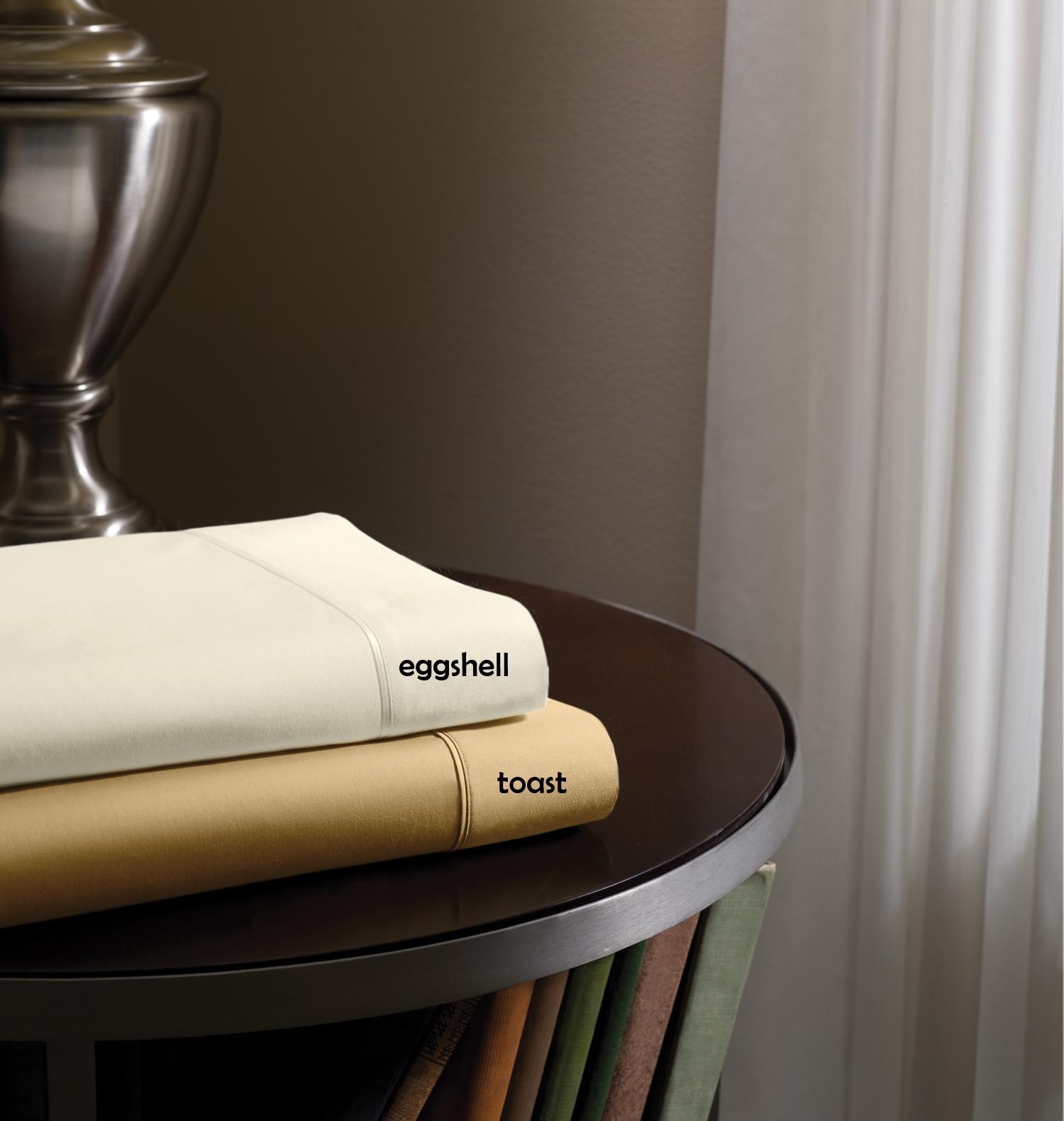 Dimension III Tempur-Pedic Eggshell Twin Sheet Set by Tempur-Pedic® at HomeWorld Furniture