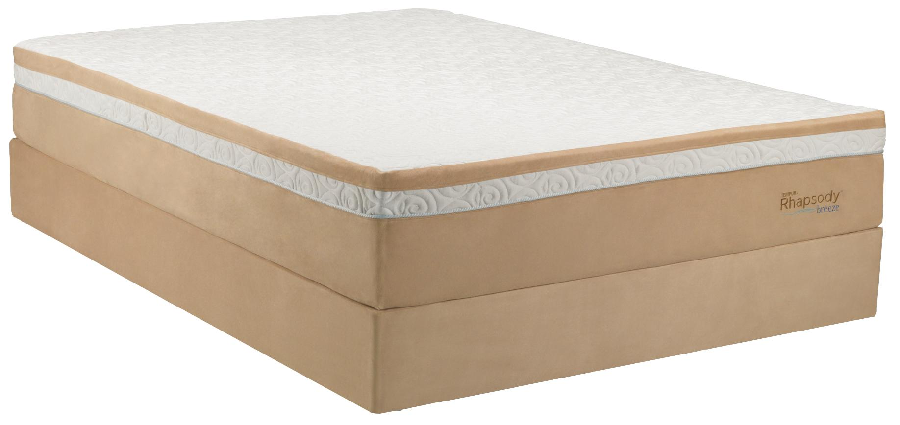 Tempur-Pedic® TEMPUR-Contour™ Rhapsody Breeze Queen Medium Firm Mattress, HP Set - Item Number: 10104150+20520150