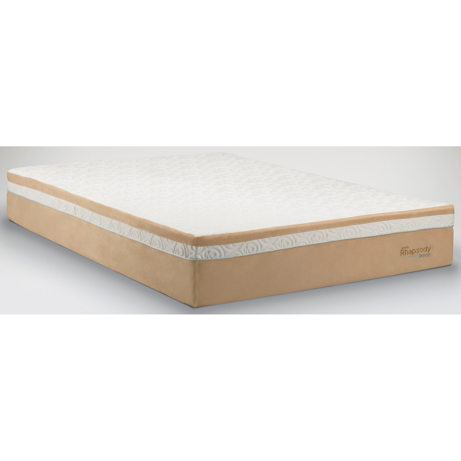 Tempur-Pedic® TEMPUR-Contour™ Rhapsody Breeze Queen Medium Firm Mattress - Item Number: 10104150