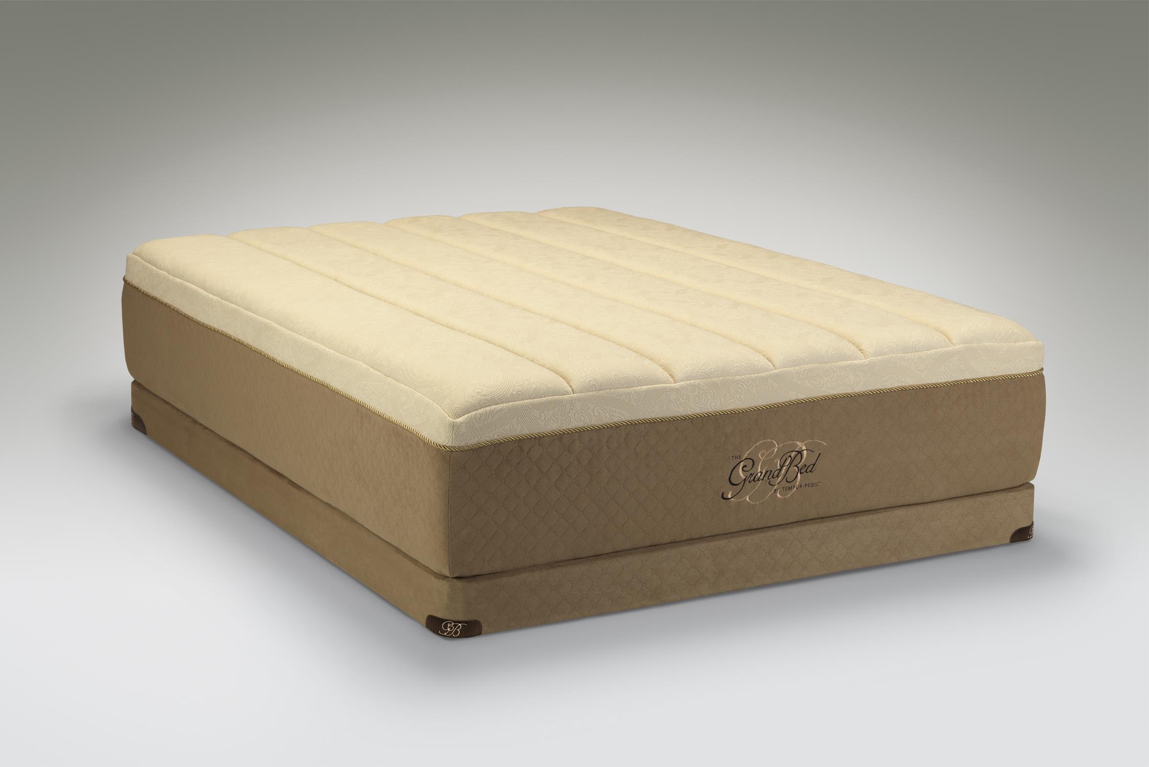 Tempur-Pedic® The GrandBed Queen Medium-Soft Mattress Set - Item Number: 10185250+21515150