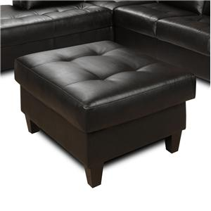 The Rose Hill Company 3990 Contemporary Tufted Ottoman