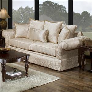 The Rose Hill Company 2840 Stationary Sofa