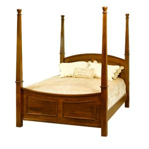 The Urban Collection Jamestown Square Queen Poster Bed