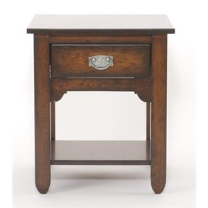 Yutzy - Urban Collection Urban Retreats Occasionals Sundance End Table