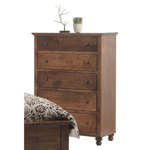Yutzy - Urban Collection Wrightsville 5-Drawer Chest