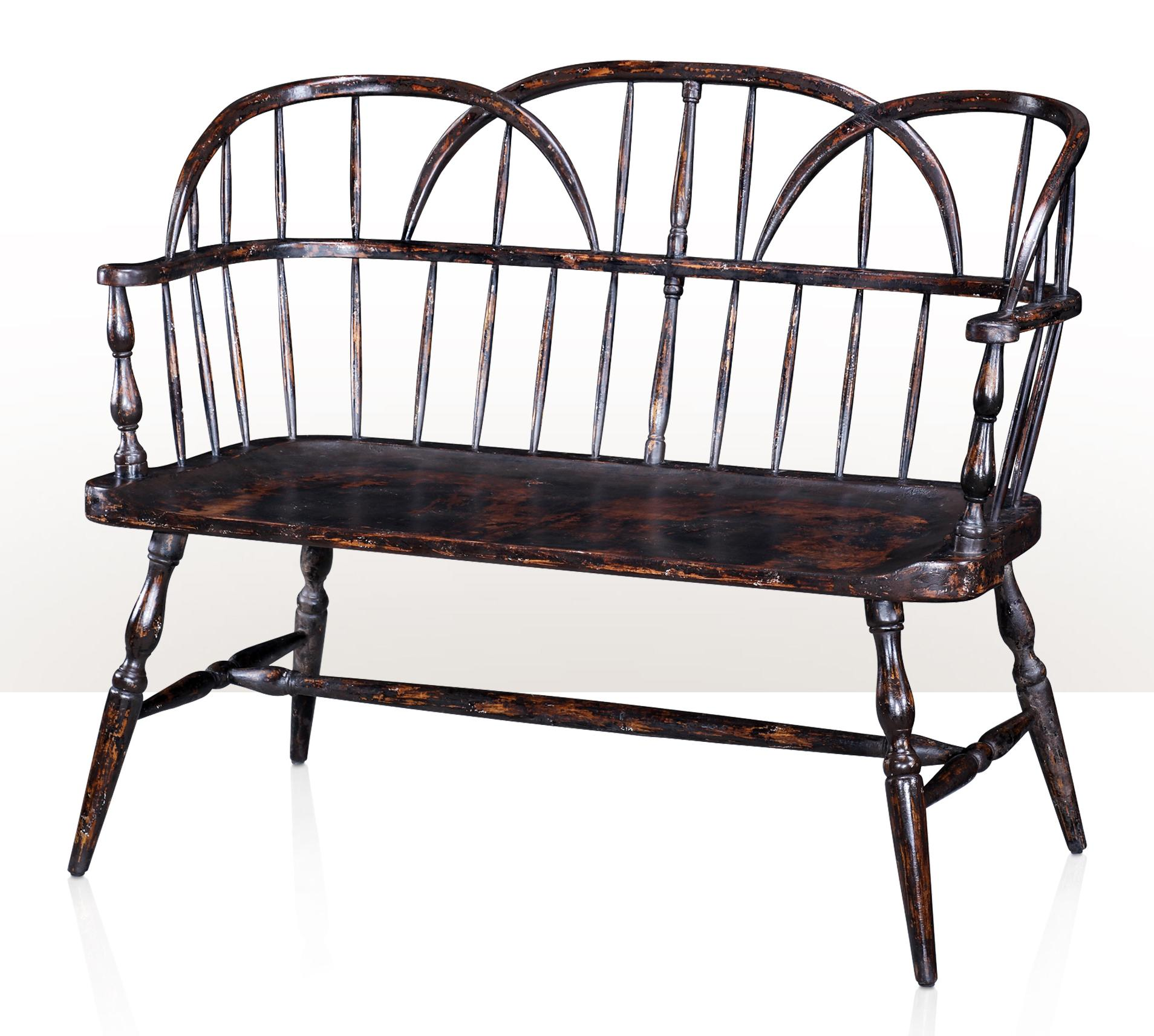 1783 Back Bench by Theodore Alexander at Story & Lee Furniture