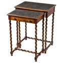 Theodore Alexander Armoury Lightly Engraved Tables - Item Number: 5000-220