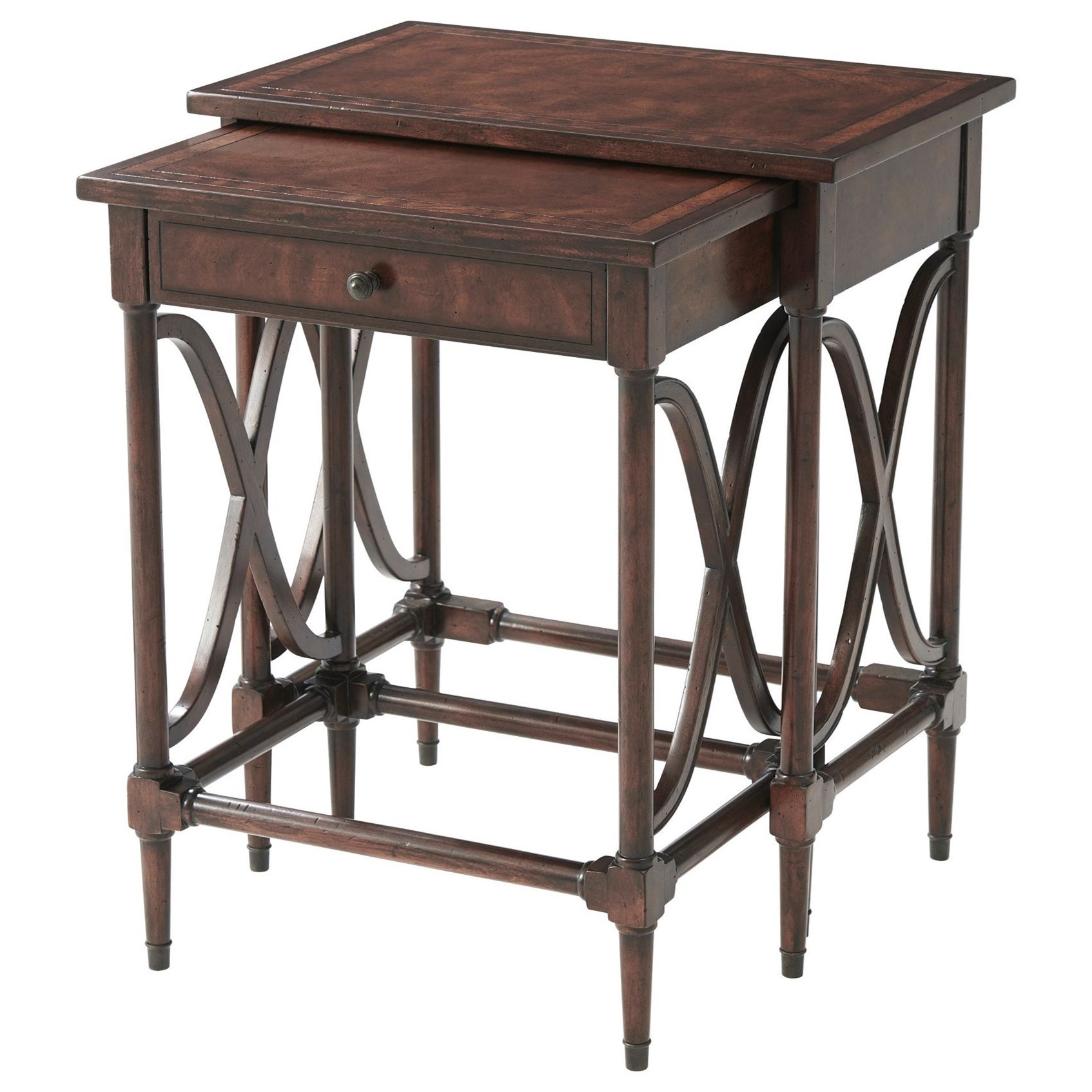 Theodore Alexander Brooksby Waves of Approval Nest of Tables - Item Number: 5005-812