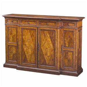 Cabinets and Sideboards Traditional Brunello Tall Sideboard by Theodore Alexander