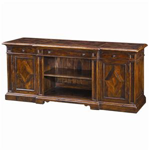 Theodore Alexander Cabinets and Sideboards 73 Inch Entertainment Cabinet
