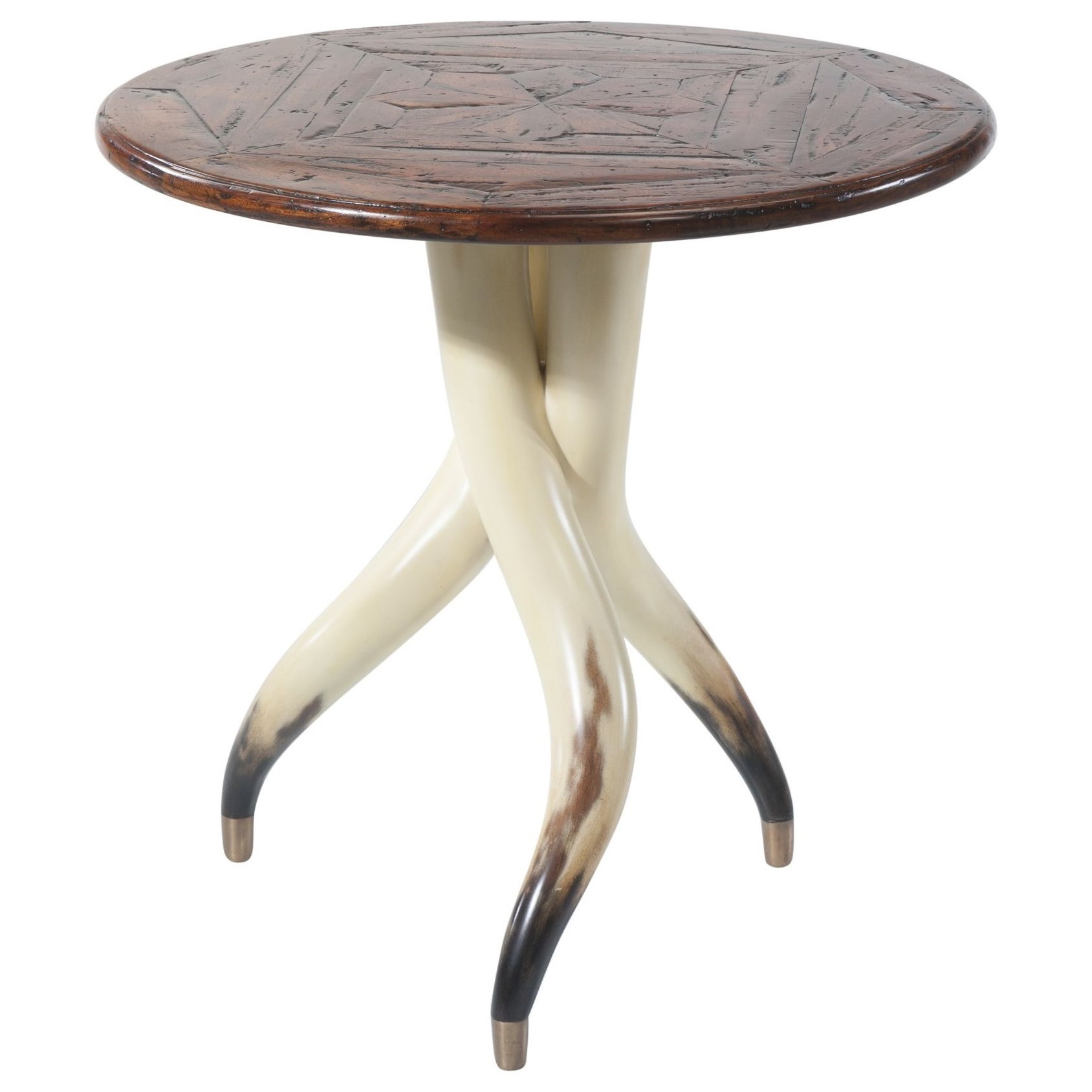 Castle Bromwich The Longhorn Table by Theodore Alexander at Baer's Furniture