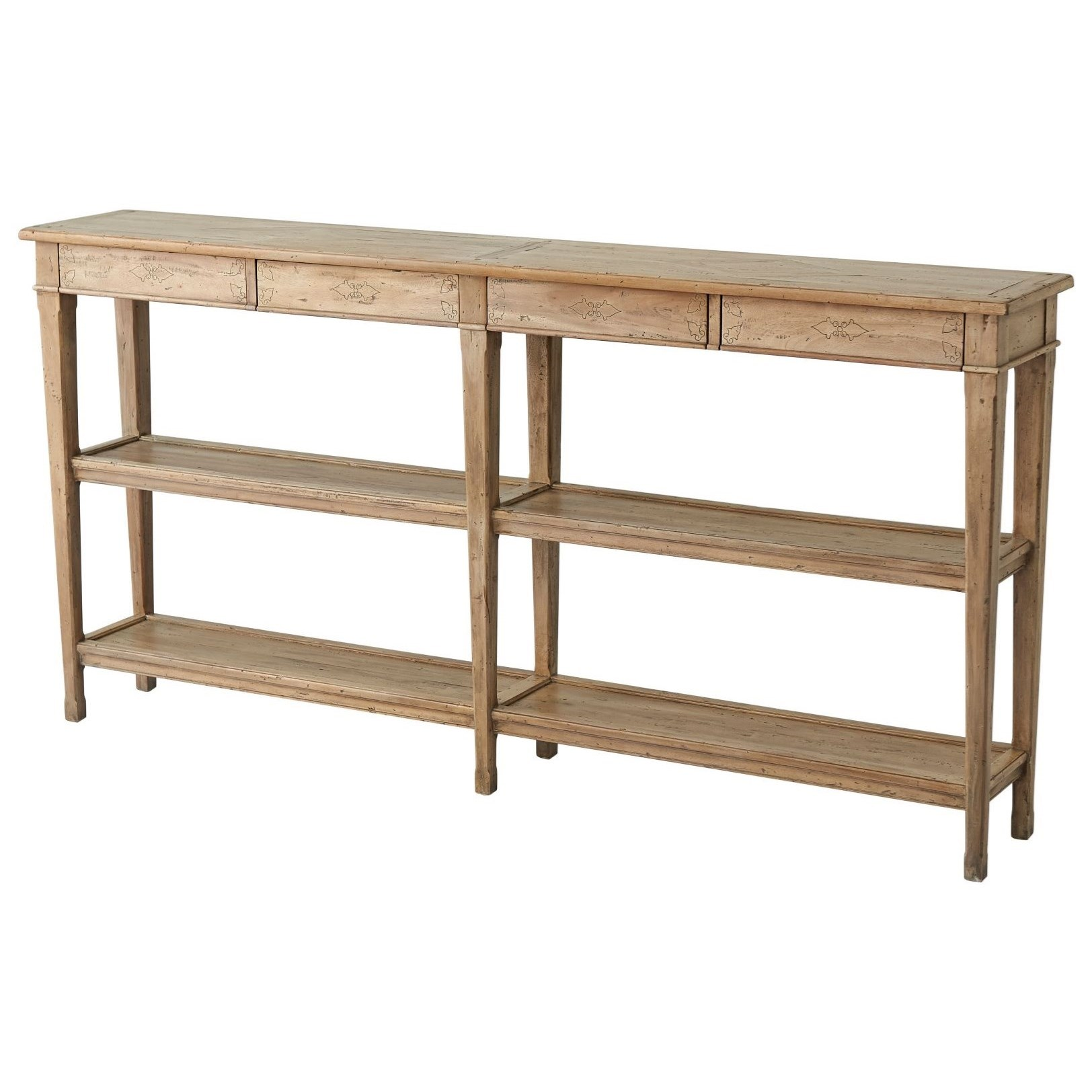 Castle Bromwich Village Console by Theodore Alexander at Baer's Furniture