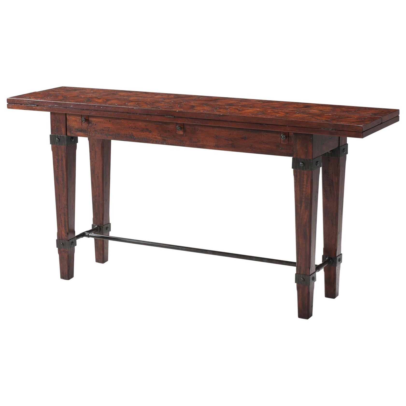 Castle Bromwich Purposes Sofa Table by Theodore Alexander at Baer's Furniture