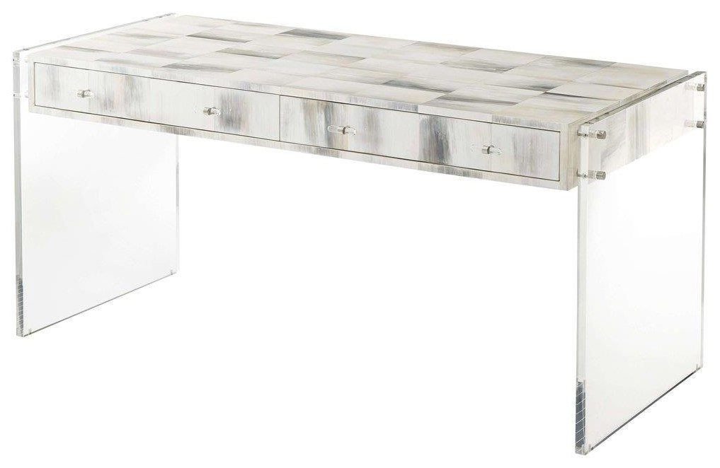 TA Accents Desk by Theodore Alexander at Baer's Furniture