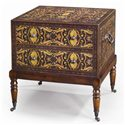 Theodore Alexander Chest of Drawers Bedside Chest/ Lamp Table with Casters - Item Number: 6002-120