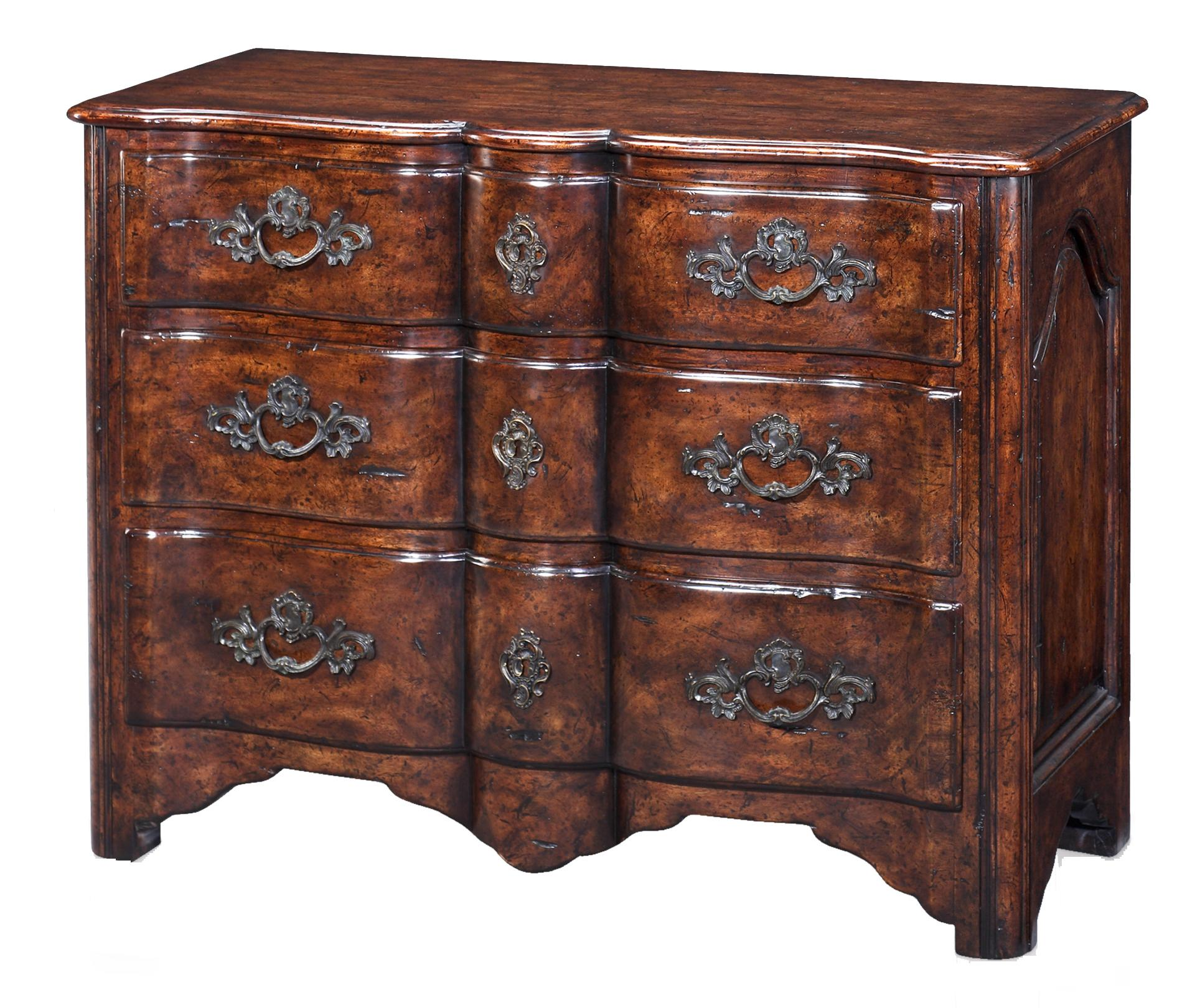Theodore Alexander Classic yet Casual Chianti Provincial Chest - Item Number: 6000-225
