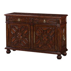Theodore Alexander Classic yet Casual Elizabethan Jewel Buffet