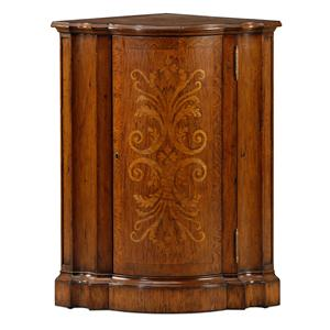 Theodore Alexander Classic yet Casual Corner Cabinet