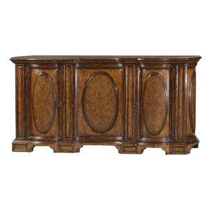 Theodore Alexander Classic yet Casual Oval-Panelled Buffet